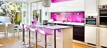 All Acrylic - Kitchen printed in House and Garden Magazin