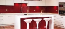 Acrylic kitchen and bar splashback