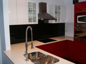 Iridium Metallic Kitchen