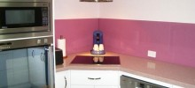 Acrylic Splashback in DX Sweet Caress