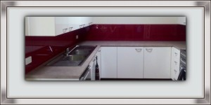 DIY Splashback in Acrylic
