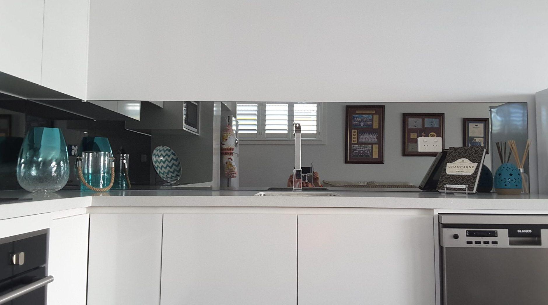 Kitchen Splashback Mirror Ozziesplash Pty Ltd