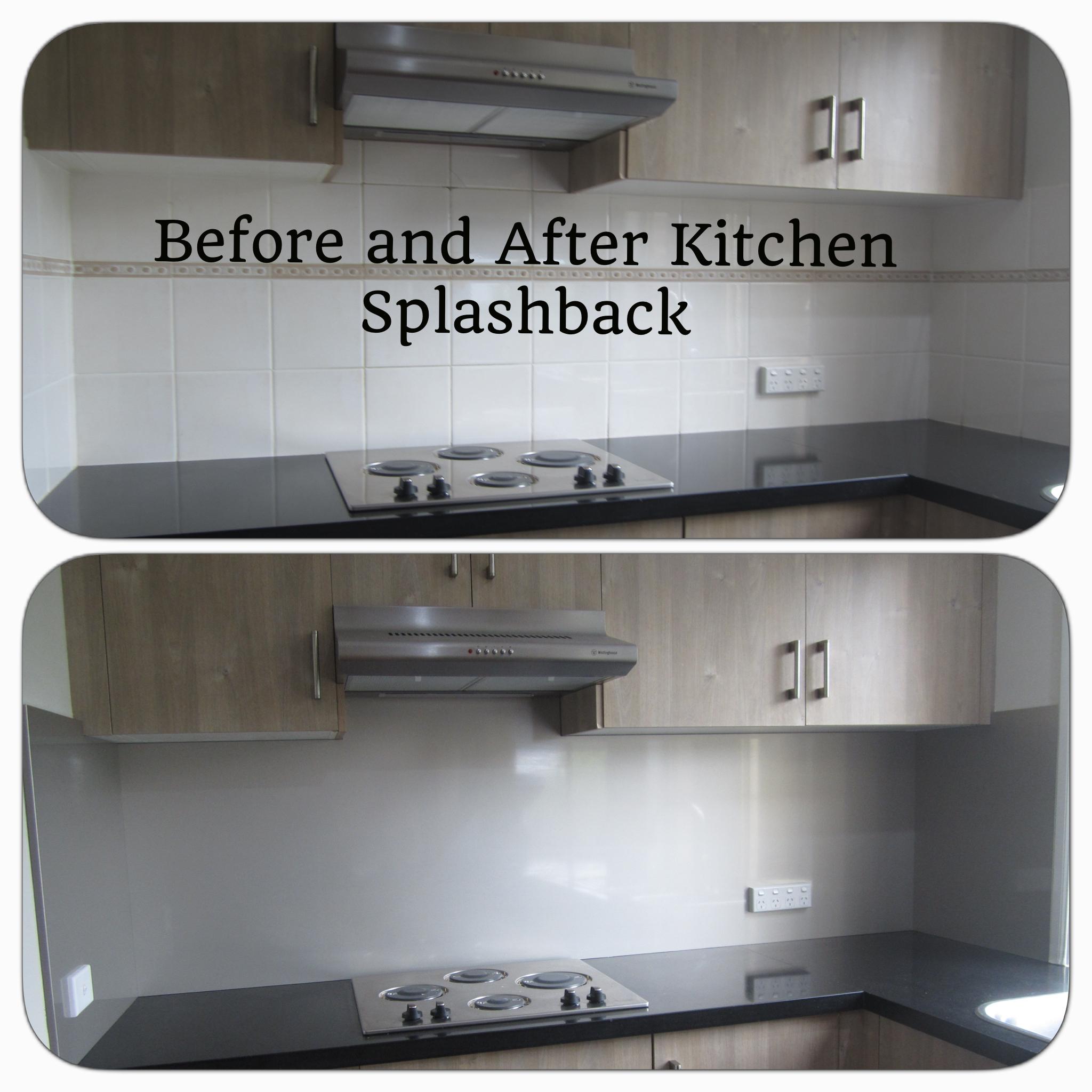 Bathroom Renovations Western Sydney: Kitchen Splashbacks : Before & After Photos