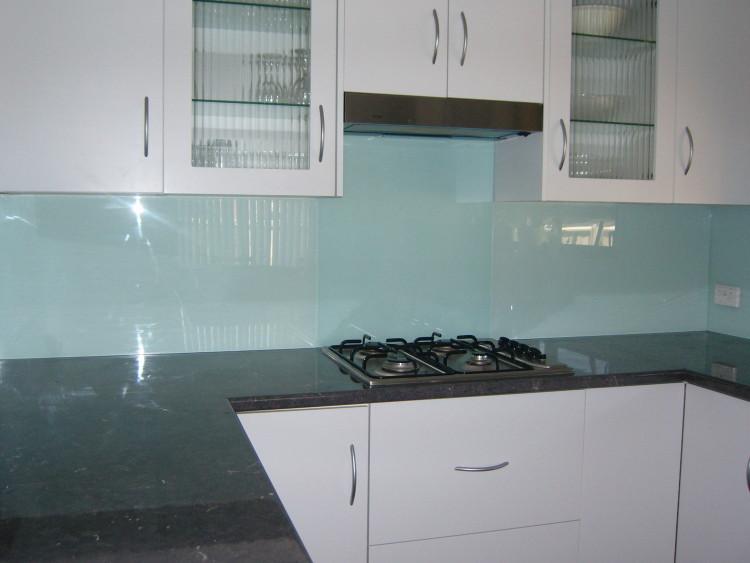 Acrylic Splashback Mixed With Glass Ozziesplash Pty Ltd