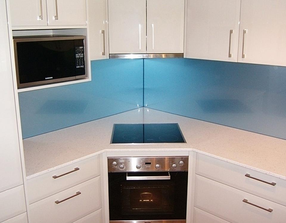 Kitchen Design Light Blue