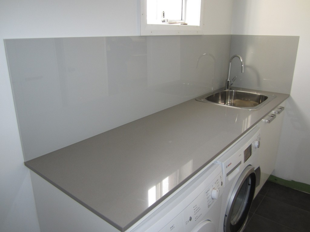 X  Glass Splashback