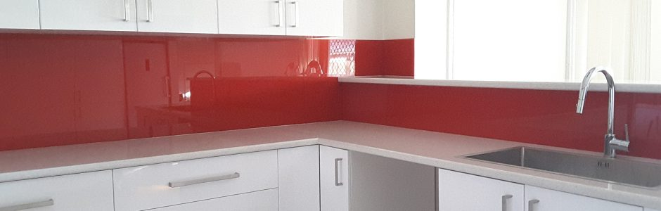 acrylic kitchen splashback with metaline insert penrith