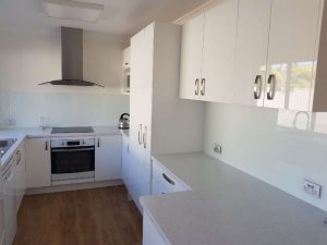 Glass Splashback - gentle touch in colour